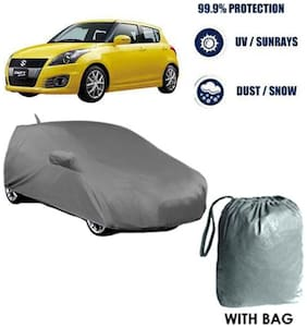 Car cover Maruti Swift Heavy Duty Material Car Body cover with Mirror & Antenna Pockets with Free Storage bag  !