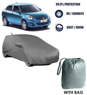Fabtec Car cover Maruti Dzire old Heavy Duty Material Car Body cover with Mirror & Antenna Pockets with Free Storage bag !