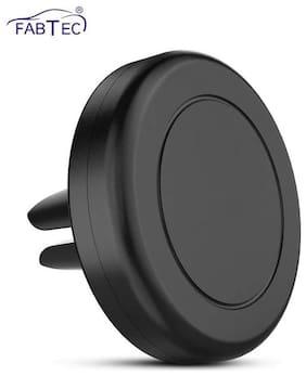 Fabtec Universal Flat Stick Magnetic Car Air Vent Mount Mobile Holder for All Mobile 360° Degree Adjustable (Ac Vent Mobile Holder)