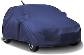 Fabtec Waterproof Car Body Cover For Volkswagen Polo Car Cover With Free Storage Bag (Blue)