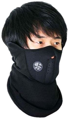 Face mask for Bike riders-Winter Sport Mask Anti Fog Windproof Bike Bicycle Cycling Mask (Black)