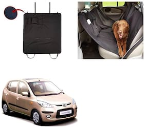 Famista Car Waterproof Pet/Dog Carriers Seat Cover Black With Pocket for I10 Type-1