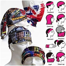 Fashno Combo 3 Of Assorted Bandana