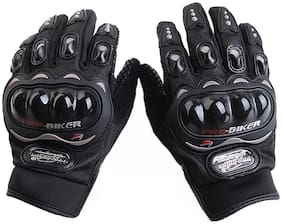 Fashno Probiker full Motorcycle Gloves(BLACK)