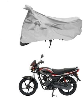 FAYANA Bajaj Platina Silver Bike Body Cover