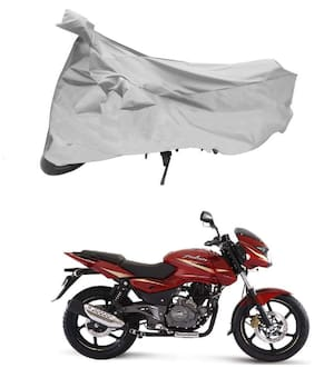 FAYANA Bajaj Pulsar Silver Bike Body Cover