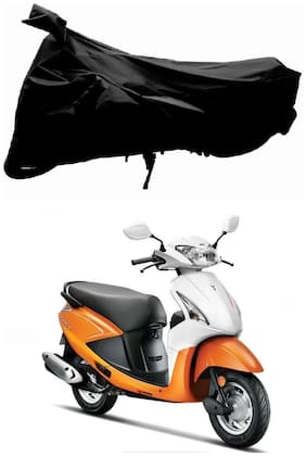 FAYANA Hero Pleasure Black Bike Body Cover