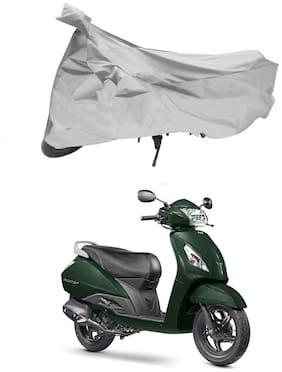 FAYANA TVS Jupiter Silver Scooty Body Cover