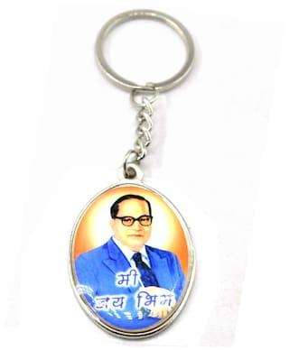 32c280d54 Buy Faynci Mi Jay Bhim Printed Dr. Babasaheb Ambedkar Key Chain ...