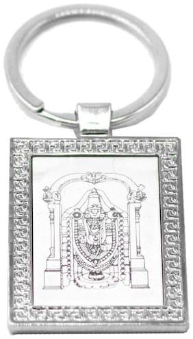Faynci Tirupati Balaji God Religious Frame High Quality Keychain for Gifting