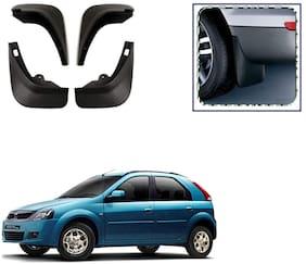 FeelitsonTM Car O.E Type Mud Flap/Guard (Set of 4 Pcs.) for Verito Vibe