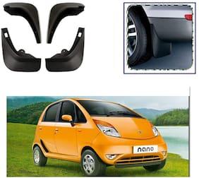 FeelitsonTM Car O.E Type Mud Flap/Guard (Set of 4 Pcs.) for Nano Type-2