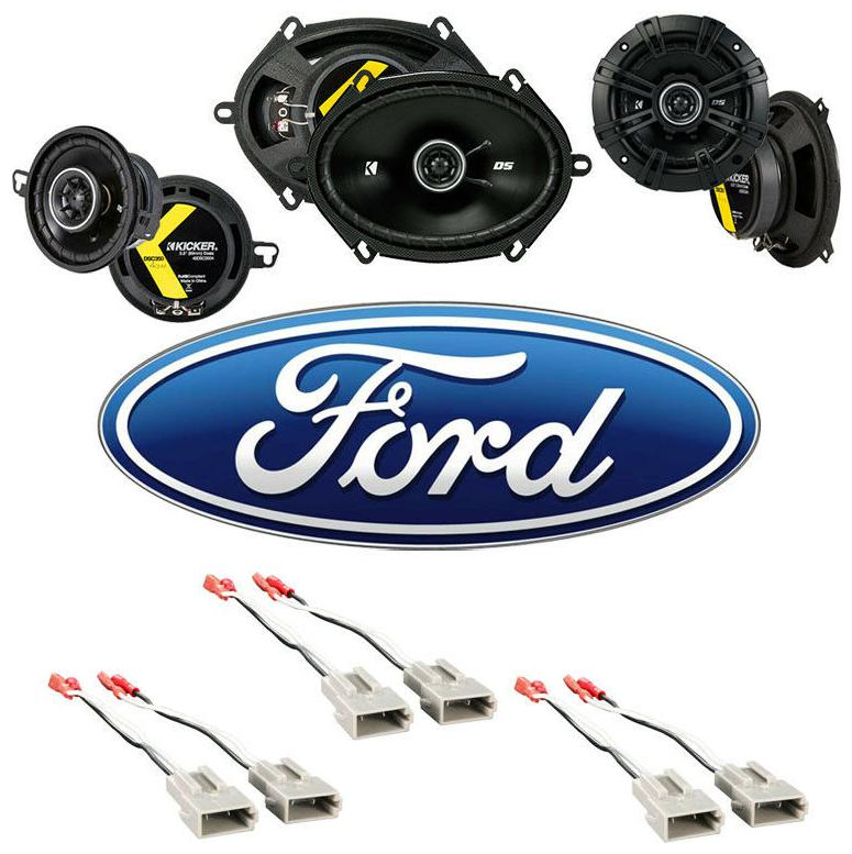 Fits Ford Tempo 1985-1988 Factory Speaker Replacement Kicker DS Series Package