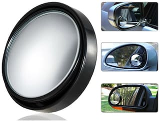 Flomaster - Blind Spot Convex Mirror With Black Corners - Set Of 2