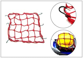 Flomaster - Multipurpose Back Seat Net Holder - Red