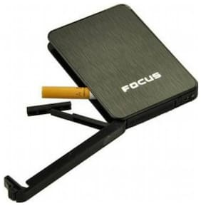 FOCUS De Ville Ultra thin Automatic Ejection Cigarette Case Lighter