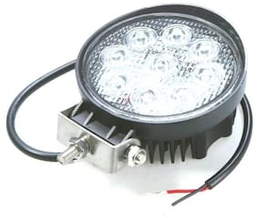 Fog Lamp, Headlight, Back Up Lamp LED  (Universal For Car, Pack of 2)