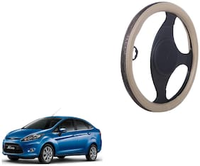 Ford Fiesta Steering Cover biege Colour Dual Leatherite Design