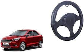 Ford Figo Aspire Steering Cover Black Leatherite Design