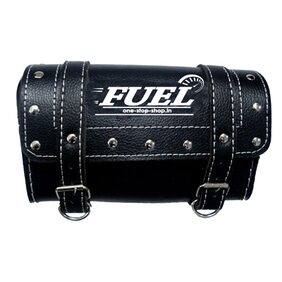 Fuel - Black Saddle Bag For Bikes (Square)