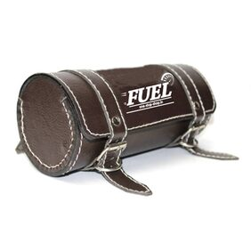 Fuel - Dark Brown Saddle Bag For Royal Enfield (Round)
