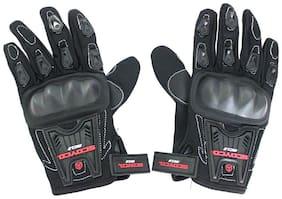 Full Fingered Black Gloves B-GL7L
