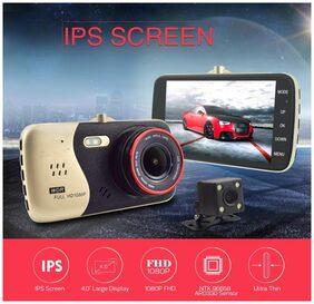 Full HD Dash Camera Car Rear Camera Rearview Video Recorder Blackbox 4 inch
