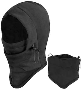 Futaba Thermal Fleece Outdoor Face Mask - Black