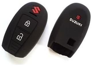 G&S Traders Silicone key cover fit for Suzuki Vitara Brezza key Pack of two(2)