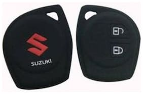 G&S Traders Silicon Key Cover for Maruti Baleno Pack of Two (2)