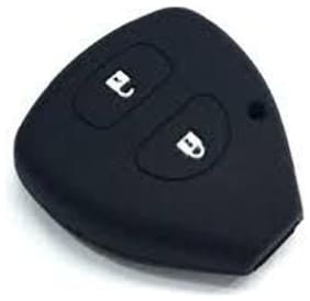 G&S Traders Silicon Key Cover for Toyota Innova / Fortuner /Corolla with 2 button remote key