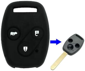G&S Traders SFK Silicone Remote Key Cover For Honda Accord (3 Button)