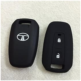 G&S Traders Silicone Key Cover For Tata Manza Remote Key (2 Button) Pack of two(2)
