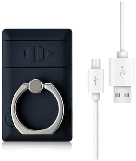 Gabbar Rechargeable Mobile Ring Lighter with USB Charging Cable