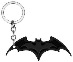 GCT Batman Bat Darts DC Comics Superhero (KC-11) Black Metal Keychain for Car Bike Men Women Keyring