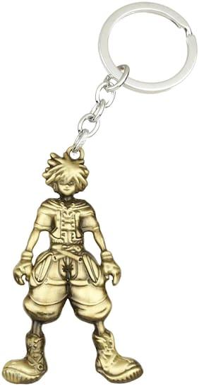 GCT Naruto Manga Anime Cartoon (KC-4) Gold Metal Keychain for Car Bike Men Women Kids Keyring