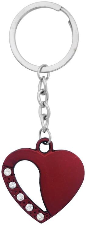 GCT Red Heart Cupid I Love You Valentine's Day (KC-3) Metal Keychain for Car Bike Men Women Keyring