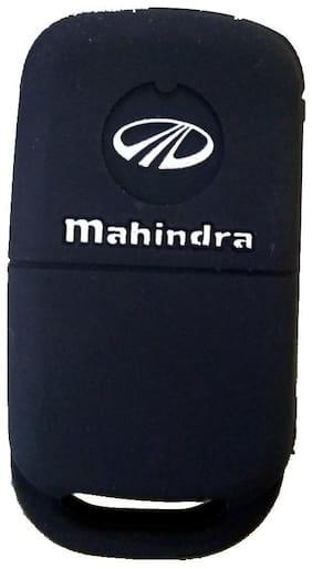 Genxtra  Silicone Key Cover for Mahindra Bolero Flip Keys