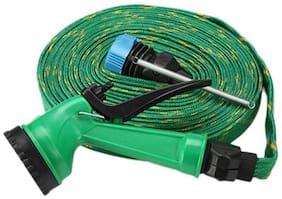 Gep Water Spray Gun 5 Mode With 10 m Hose Pipe For Garden/car/bike/pet Wash