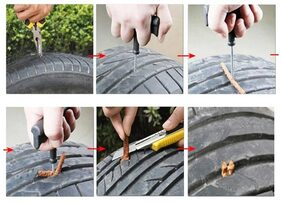 Gking Car Tire Puncher kit