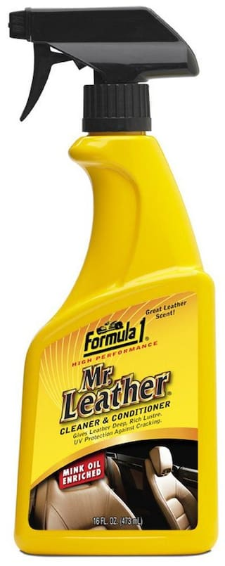 GLOBALINK Formula 1 Mr.Leather 615163 Spray Cleaner and Conditioner (473 ml)