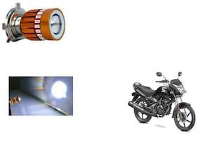 GLOBALINK H4 LED COB Multicolor Flasher Headlight Motorcycle Bike Head Lamp Light Bulb for Honda CB Unicorn 150