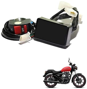 Grand Pitstop Bike PnP 20 Patterns Hazard Flasher with Module and Control Switch for Royal Enfield Thunderbird