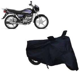 Gromaa bike cover for Hero splendor 110 black cover