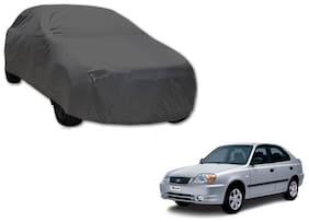 Gromaa Car Body Cover For Hyundai Accent Grey