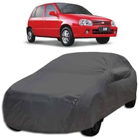 Gromaa Car Body Cover For Maruti Suzuki Zen Grey