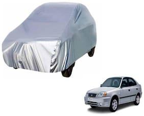 Gromaa Silver Car Body Cover For Hyundai Accent