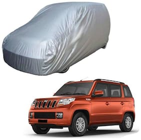 Gromaa Silver Car Body Cover For Mahindra TUV300