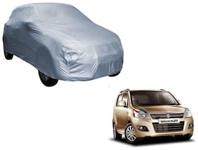 Gromaa Silver Car Body Cover For Maruti Suzuki WagonR
