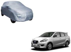 Gromaa Silver Car Body Cover For Datsun Go+